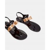 Ted Baker - Teiya - Sandaal met strik - zwart