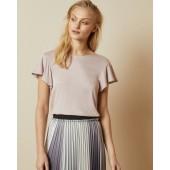 Ted Baker - Ayleez T-shirt vieux roze wijde mouwen