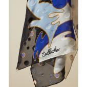 Ted Baker - Minna sjaal hoogblauw zwart wit