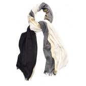 Titto - Josefina sjaal - Zwart ecru goud