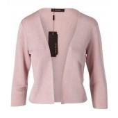 Vera Mont - 4049 4653 Vestje in zacht roze met metallic schijn.