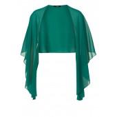 Vera Mont - 2805 5000 5046 Stola cape groen.